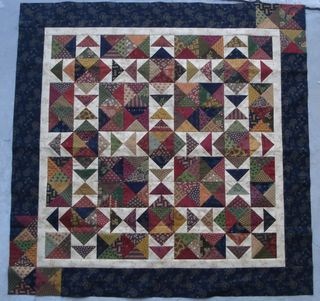 Winter Nights by Carrie Nelson of Miss Rosie's Quilt Co.